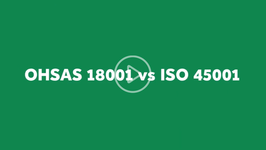 Difference between OHSAS 18001 vs ISO 45001